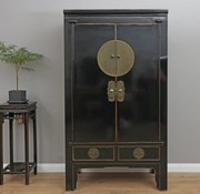 Yajutang Chinese wedding cabinet black