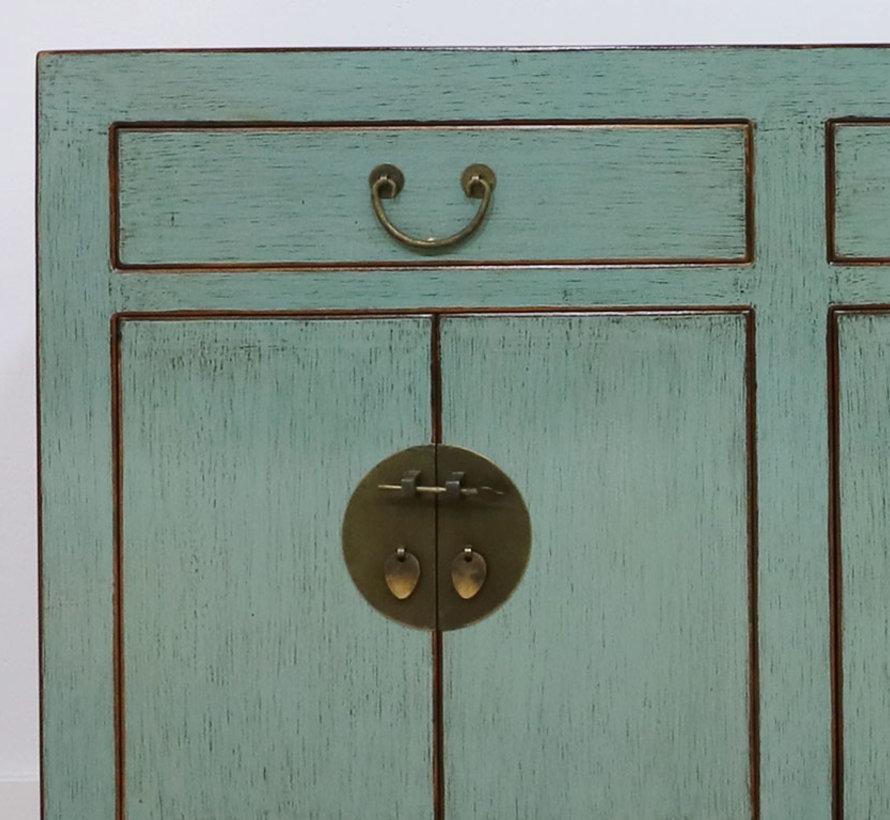 Sideboard Kommode aus China 6 Türen 3 Schubladen grau