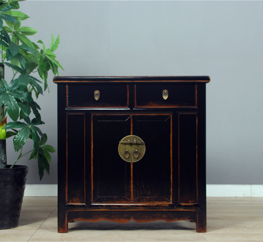 Chinese chest of drawers Oriental / Asian style black