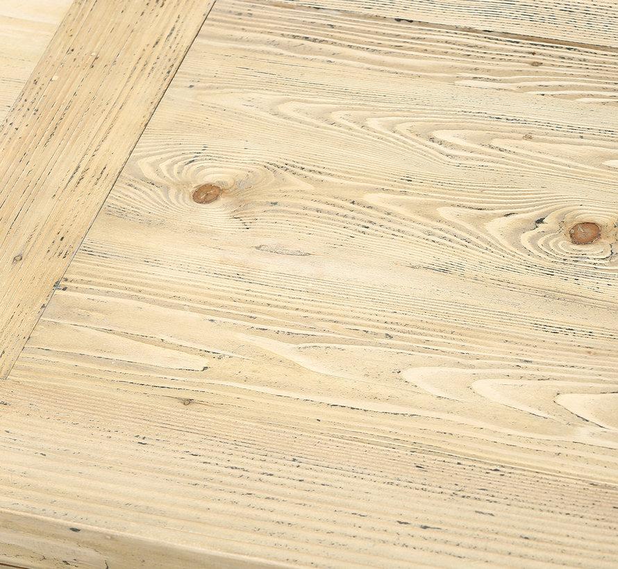 Antikes Sideboard 4 Türen 4 Schubladen aus China Naturholz