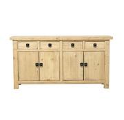 Yajutang Antikes Sideboard 4 Türen 4 Schubladen