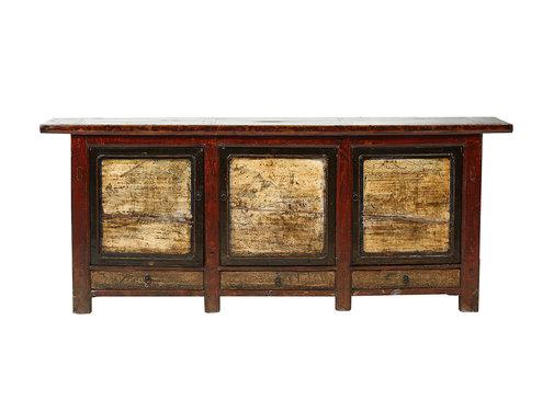 Yajutang Antique sideboard 3 doors 3 drawers