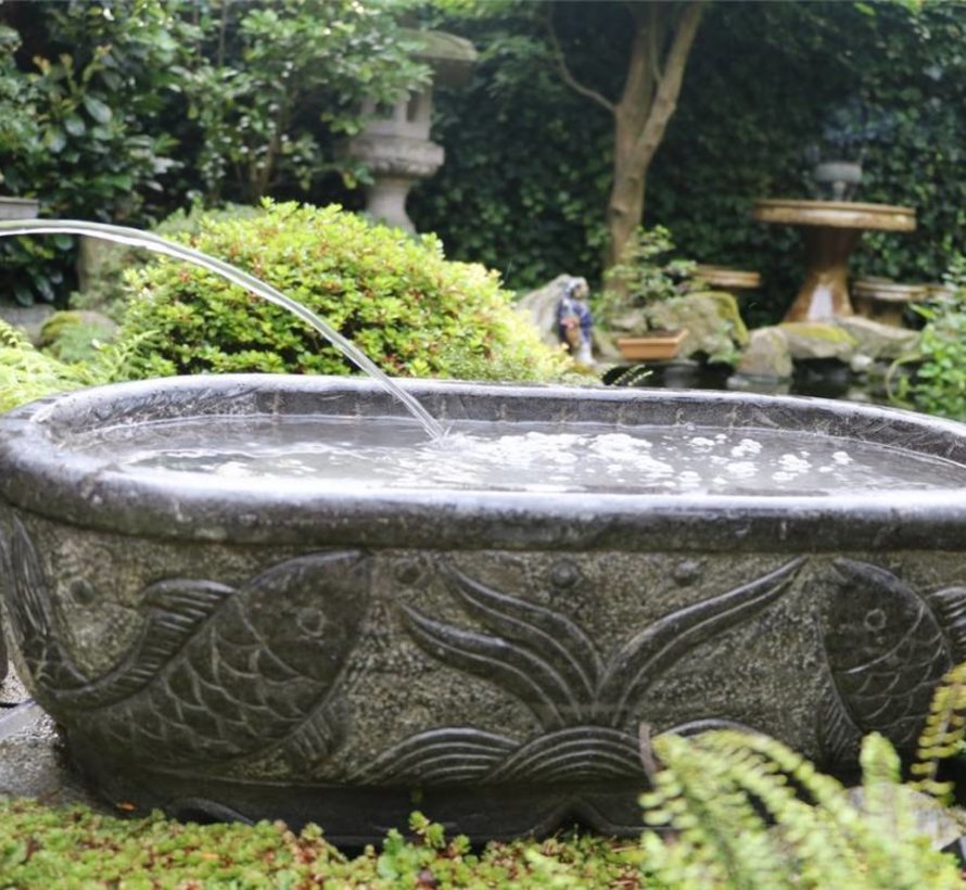 Natural stone fountain Garden fountain ornamental garden decoration