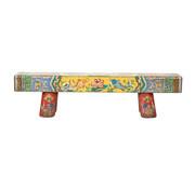 Yajutang Antike Chinesische Holzbank handbemalt