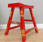 Yajutang Wooden stool solid wood red