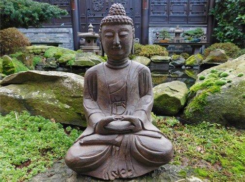 Yajutang Stein-Buddha Siddhartha für Garten