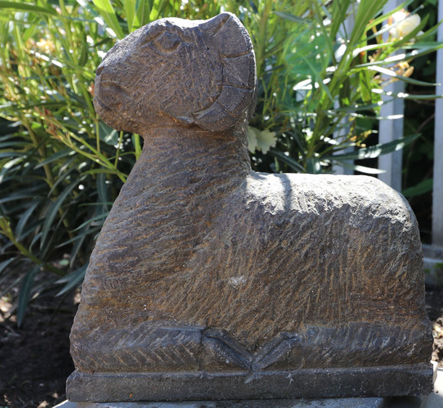 Natura Stone Schaff Garden Animals Ornaments for Patio Pond Balcony
