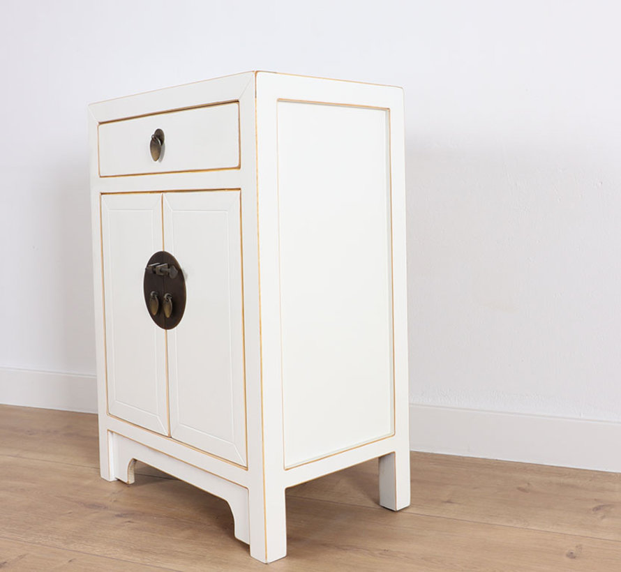 Chinese dresser  Oriental / Asian style white