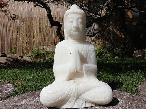 Yajutang Stein Buddha Siddhartha für Garten