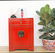Yajutang Chinese chest of drawers Asian red