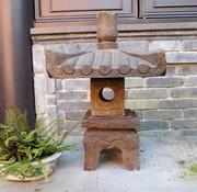Yajutang lantern natural stone  square roof