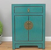 Yajutang Dresser 1 drawer 2 doors turquoise