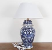Yajutang Porzellanvasenlampe mit Phoenix