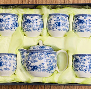 Yajutang Chinese porcelain tea set