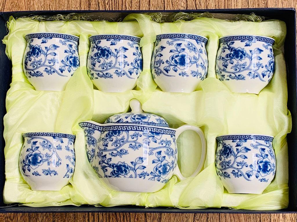 Chinesisches Porzellan Tee Set Yajutang Mobel Gmbh