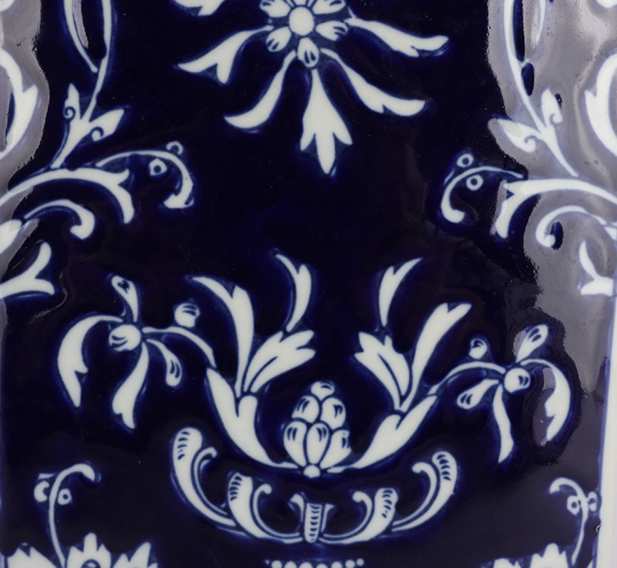 Chinese Porcelain Square Lid Vase