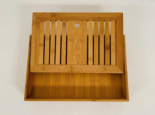 Yajutang Chinese bamboo tray for tea sets