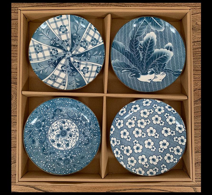 Chinesische Porzellan Dekoration Platten Teller