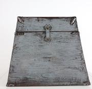 Yajutang Antike Chinesische Truhe grau