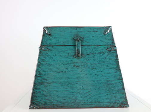 Yajutang Antique Chinese chest turquoise