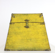 Yajutang Antike Chinesische Truhe gelb