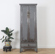 Yajutang Chinese wedding cupboard light grey