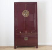 Yajutang Wedding cabinet solid wood purple