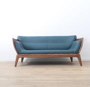 Yajutang 2-Sitzer-Sofa in Leder mit massivholz,185 cm