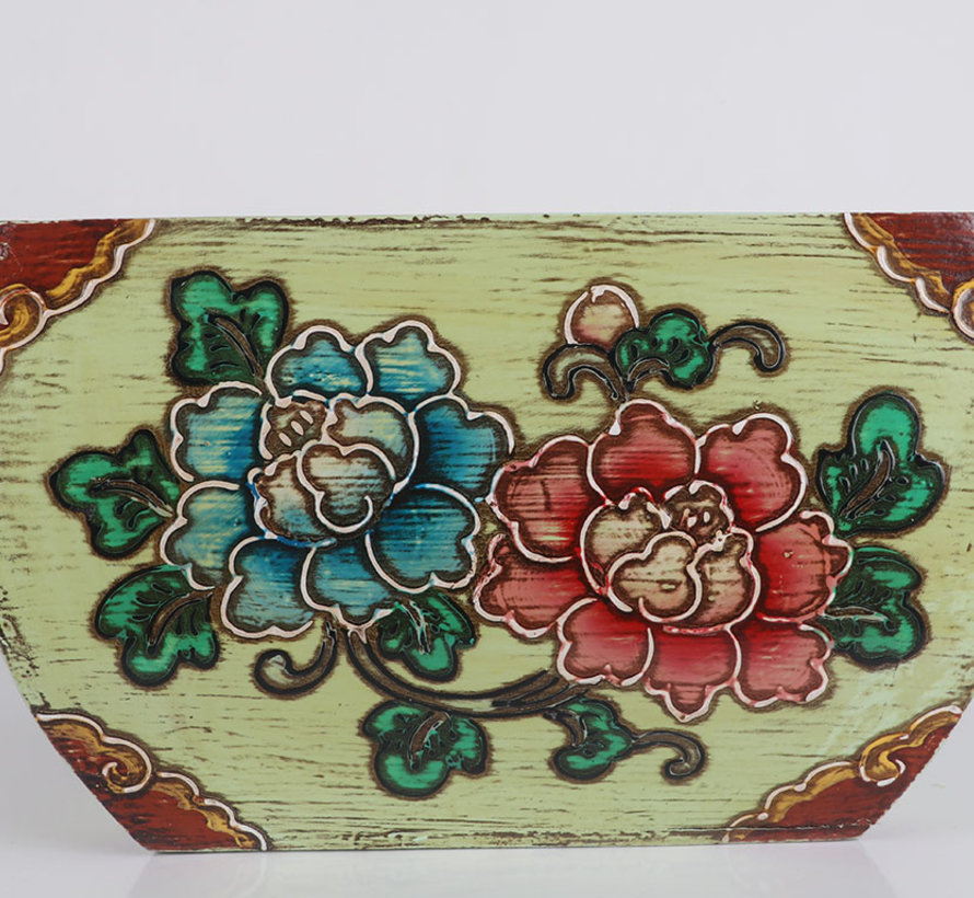 China Wooden Basket Rice Unit for Flowers Magazine or Towels