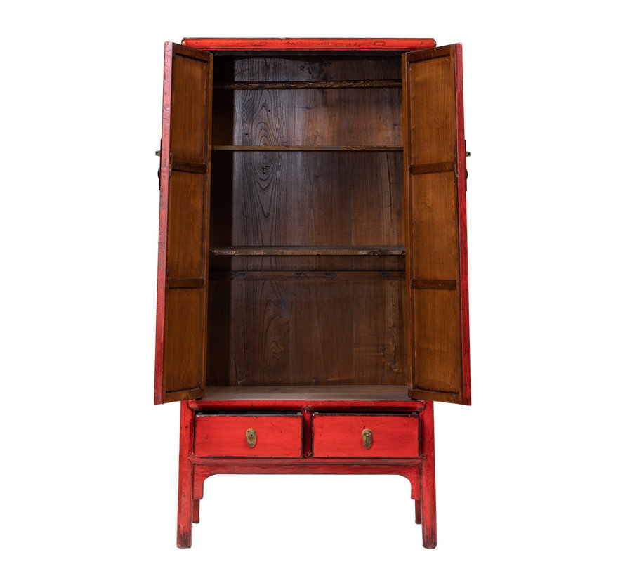 antique chinese wedding cabinet cabinet red