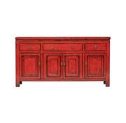 Yajutang Antique lowboard  red