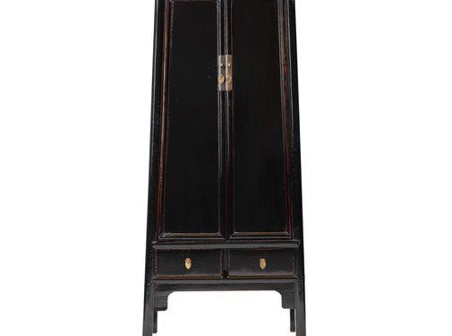 Yajutang antique chinese wedding cabinet black