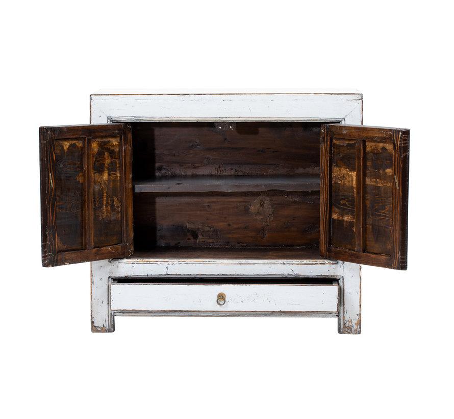 Antike chinesische Kommode Massivholz  handbemalte