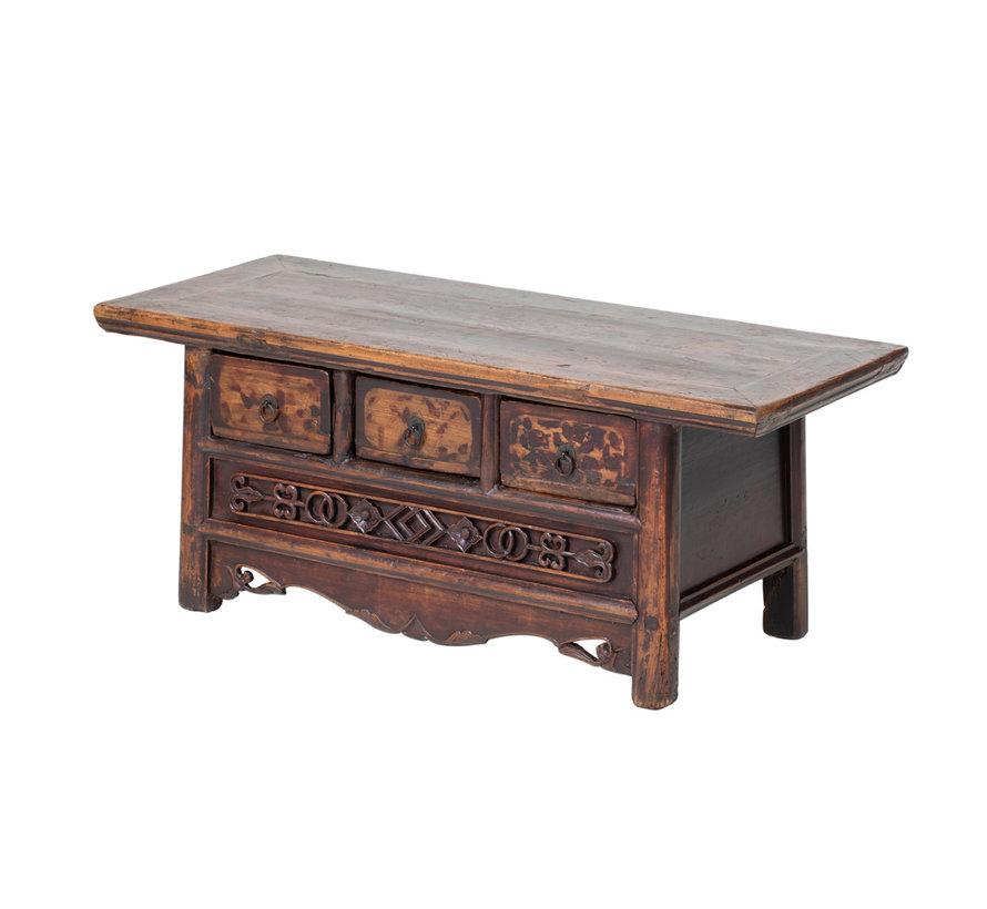 Antikes  Sidebaord  Lowboard  chinesisch Asia asiatisch brau