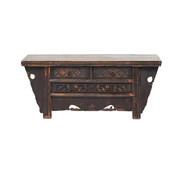Yajutang Antique lowboard brown