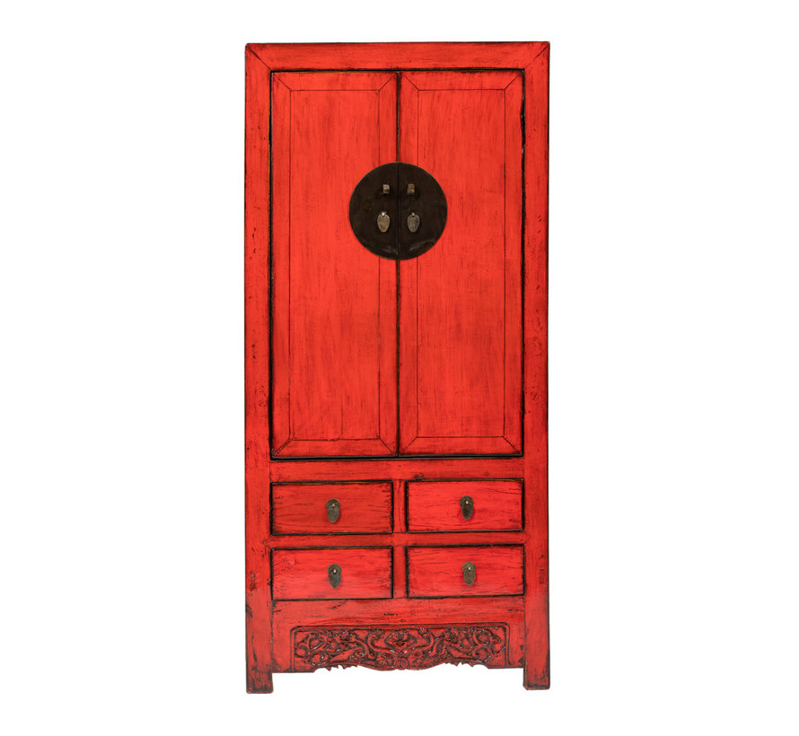 antique chinese wedding cabinet cabinet yered
