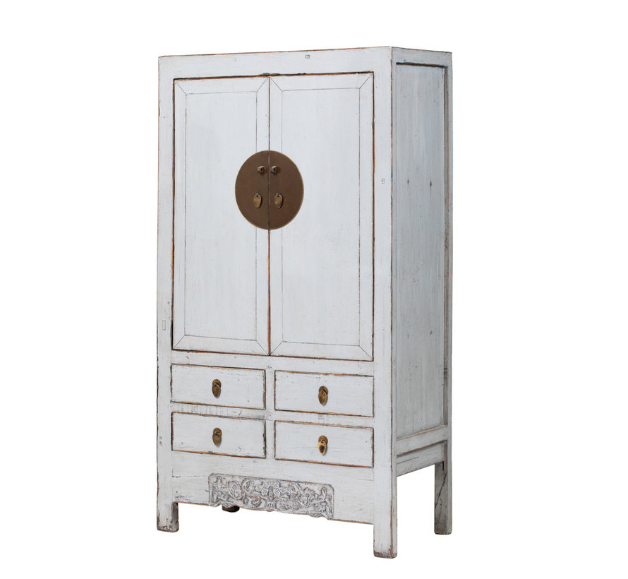 antique chinese wedding cabinet cabinet yewhite