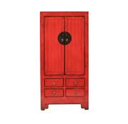 Yajutang antique chinese wedding cabinet red