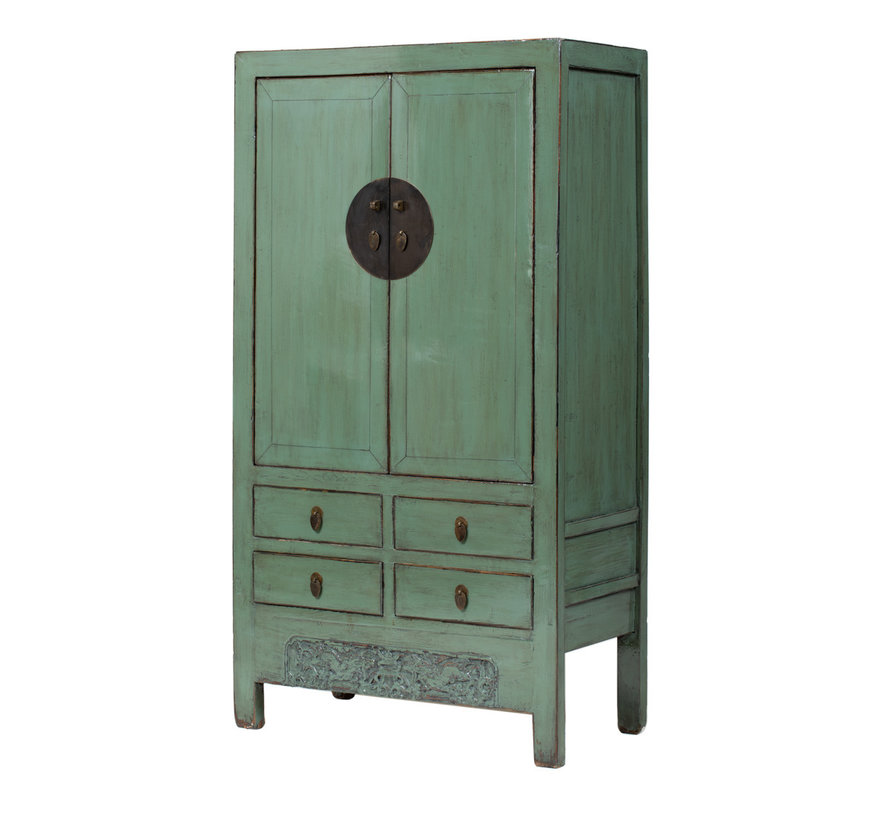 antique chinese wedding cabinet cabinet mint