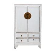 Yajutang antique chinese wedding cabinet white