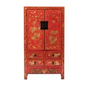 Yajutang antik china Hochzeitsschrank rot