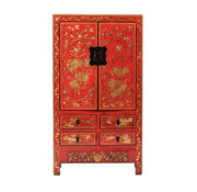 Yajutang antique chinese wedding cabinet red