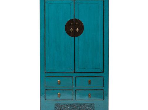 Yajutang antique  wedding cabinet blue