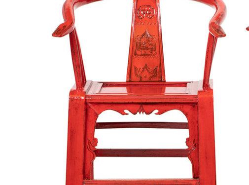Yajutang Antiker chinesischer Armlehnstuhl