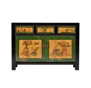 Yajutang Antique lowboard sidebboard painted