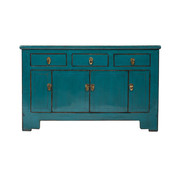 Yajutang Antique lowboard sidebboard turquoise