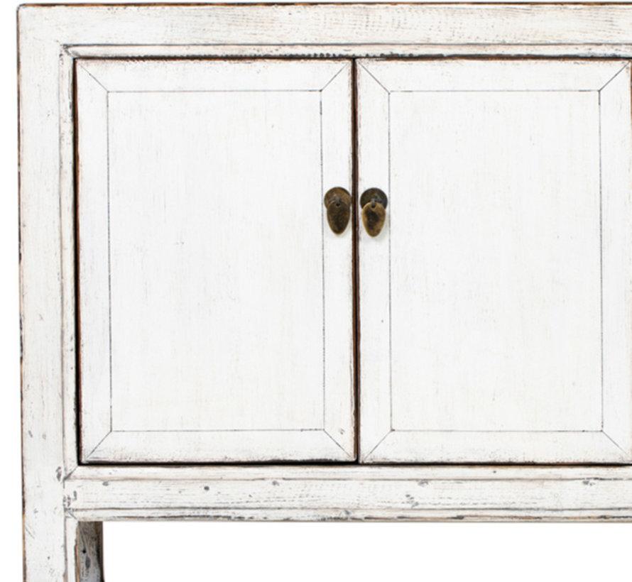 Antikes  Sidebaord  Lowboard  chinesisch Asia weiß