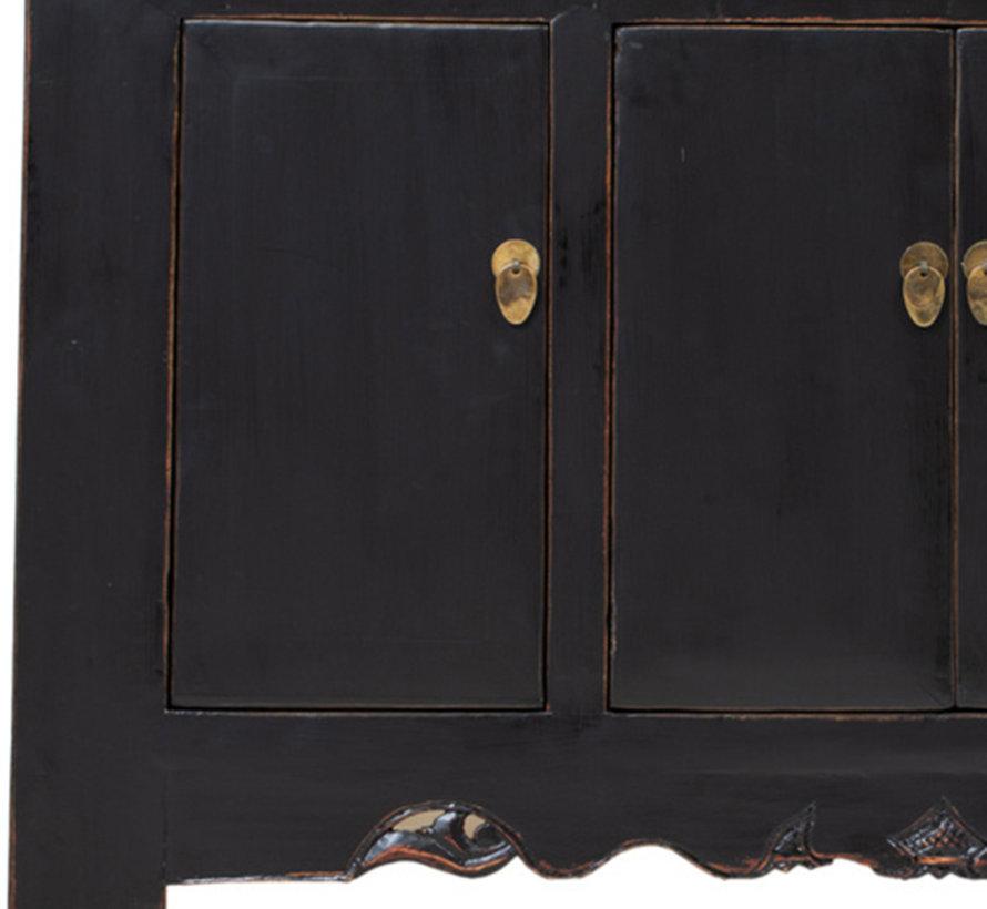Antikes  Sidebaord  Lowboard  chinesisch Asia schwarz