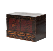 Yajutang Antike chest with floral motif