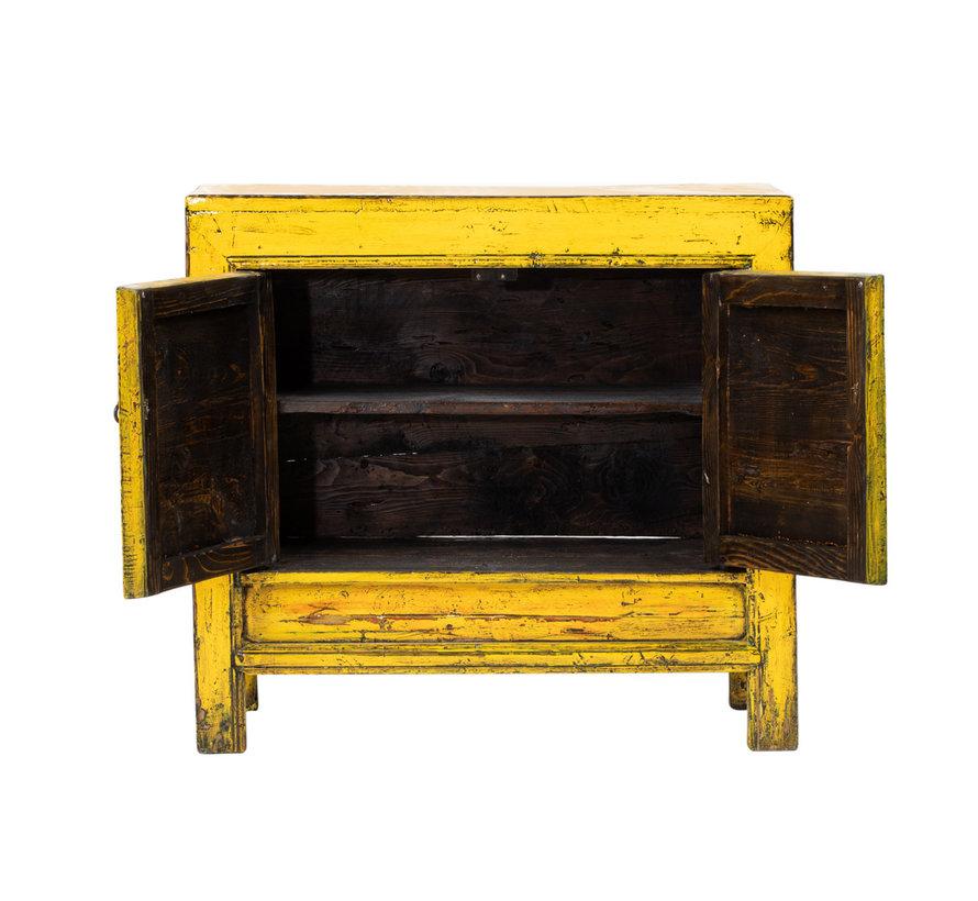 Antike chinesische Kommode Nachtschrank Massivholz